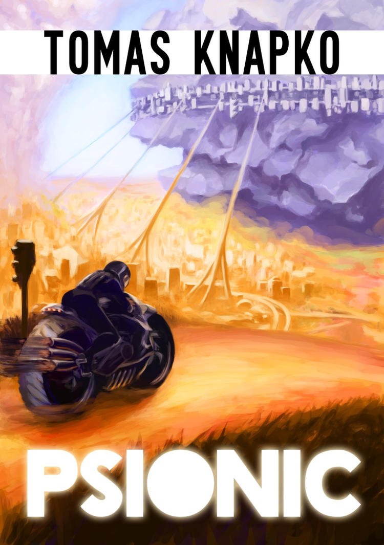 Cover for Psionic (novel) by uxv