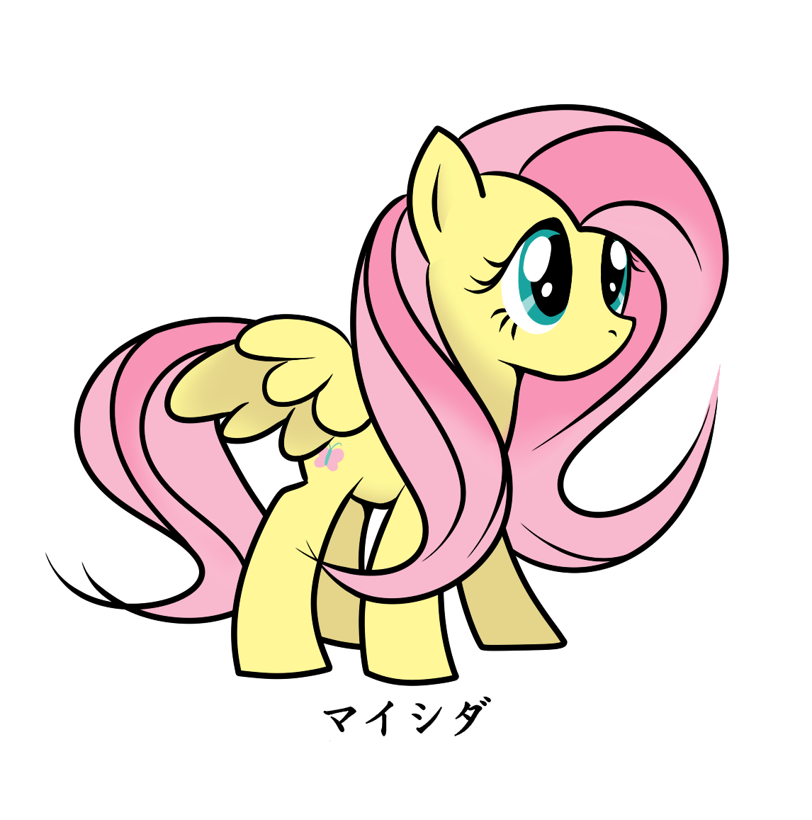 Maishida's Fluttershy by Maishida