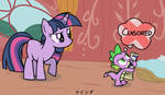 Dirty Mind Spike and Twilight