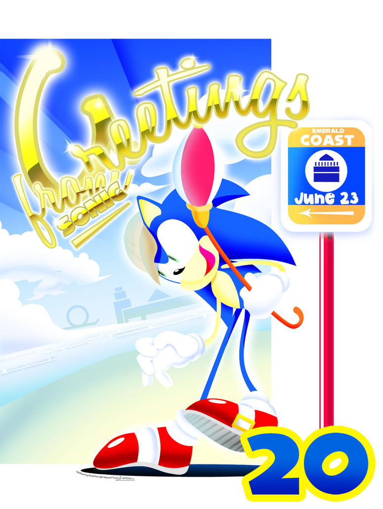 C.E. Sonic's 20th Anniversary by sapphii