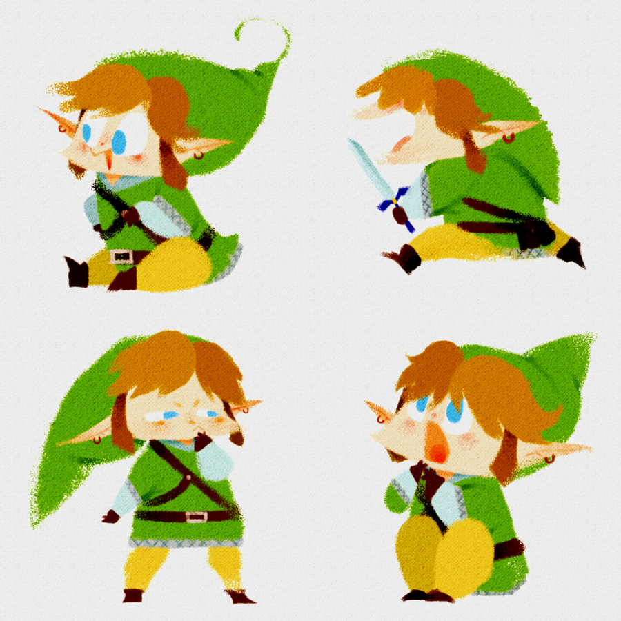 Lil' Linksies by sapphii