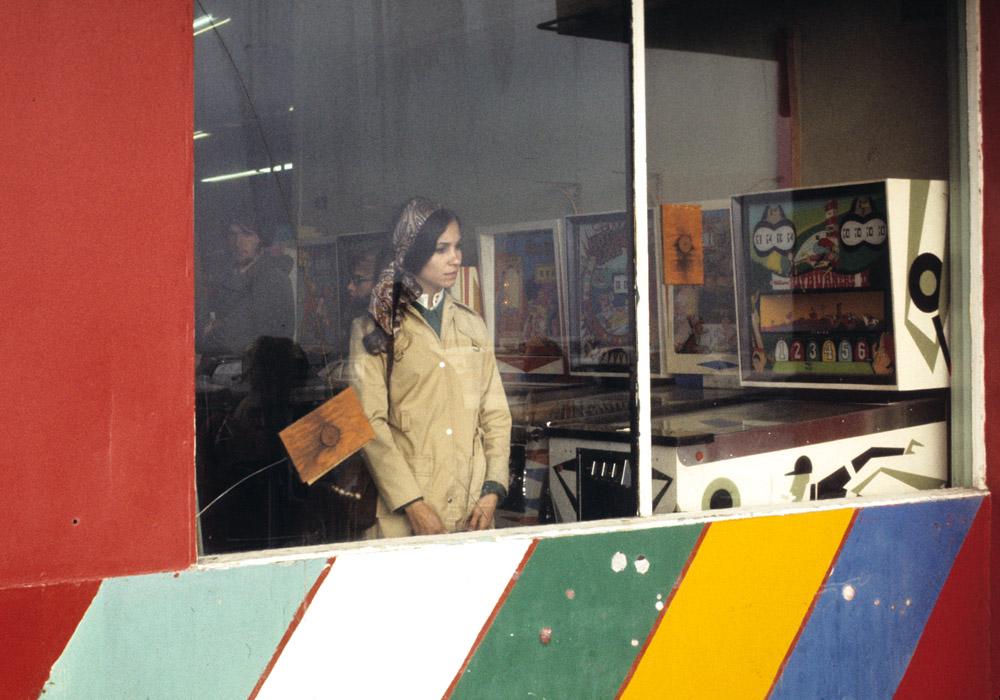 Pinball woman