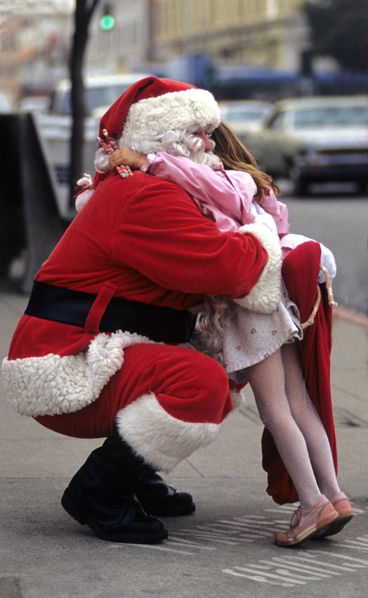 Santa's in town