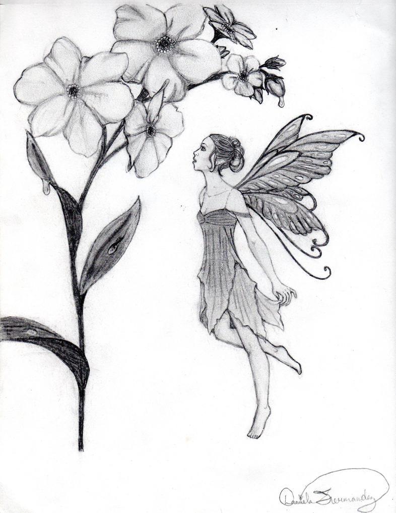 Flower Fairy by danide...
