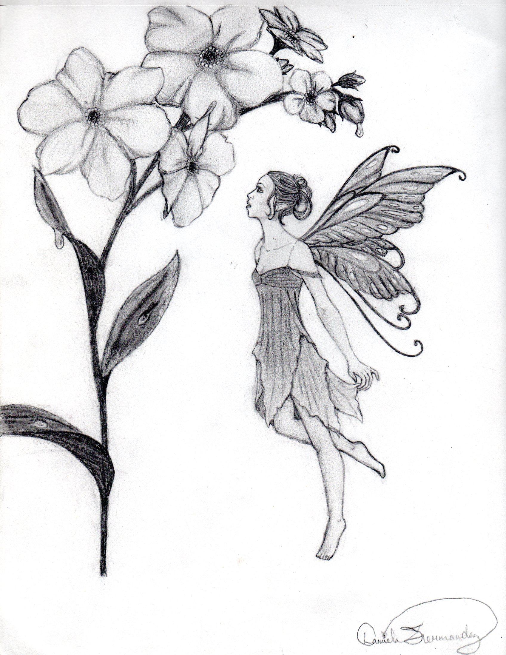 Flower Fairy by danidee924 on DeviantArt