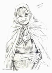 Old lady by Shashini8