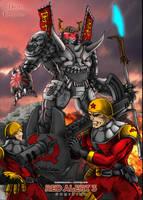 Steel Ronin Vs Flak Trooper by DrMostafaMortaja