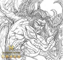 Illidan Stormrage - World of War Craft