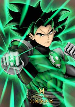 Green Lantren Goko