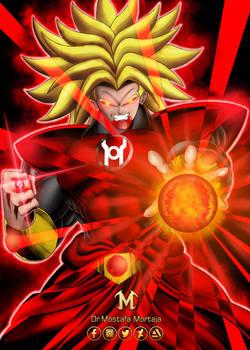 Broly Red Lantren