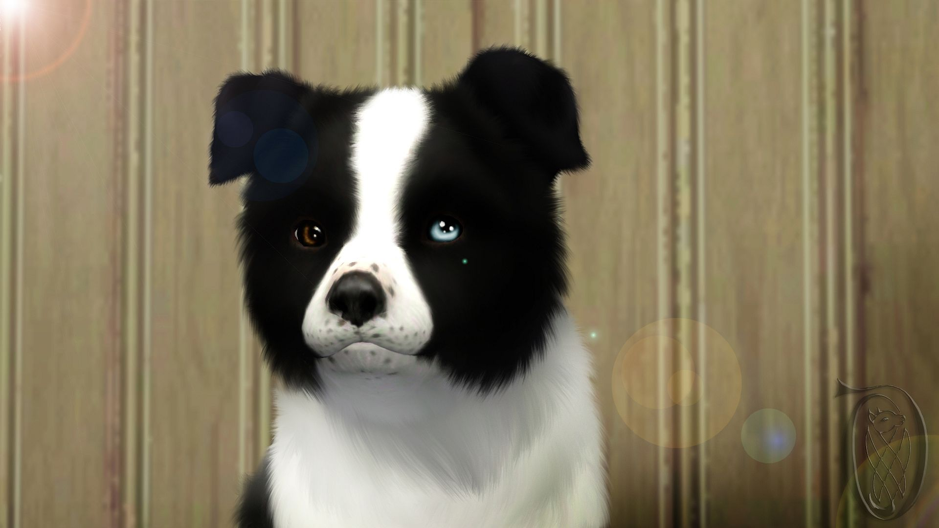 Sims 3 Pets The Last Blue Spirit By Spiritythedragon On