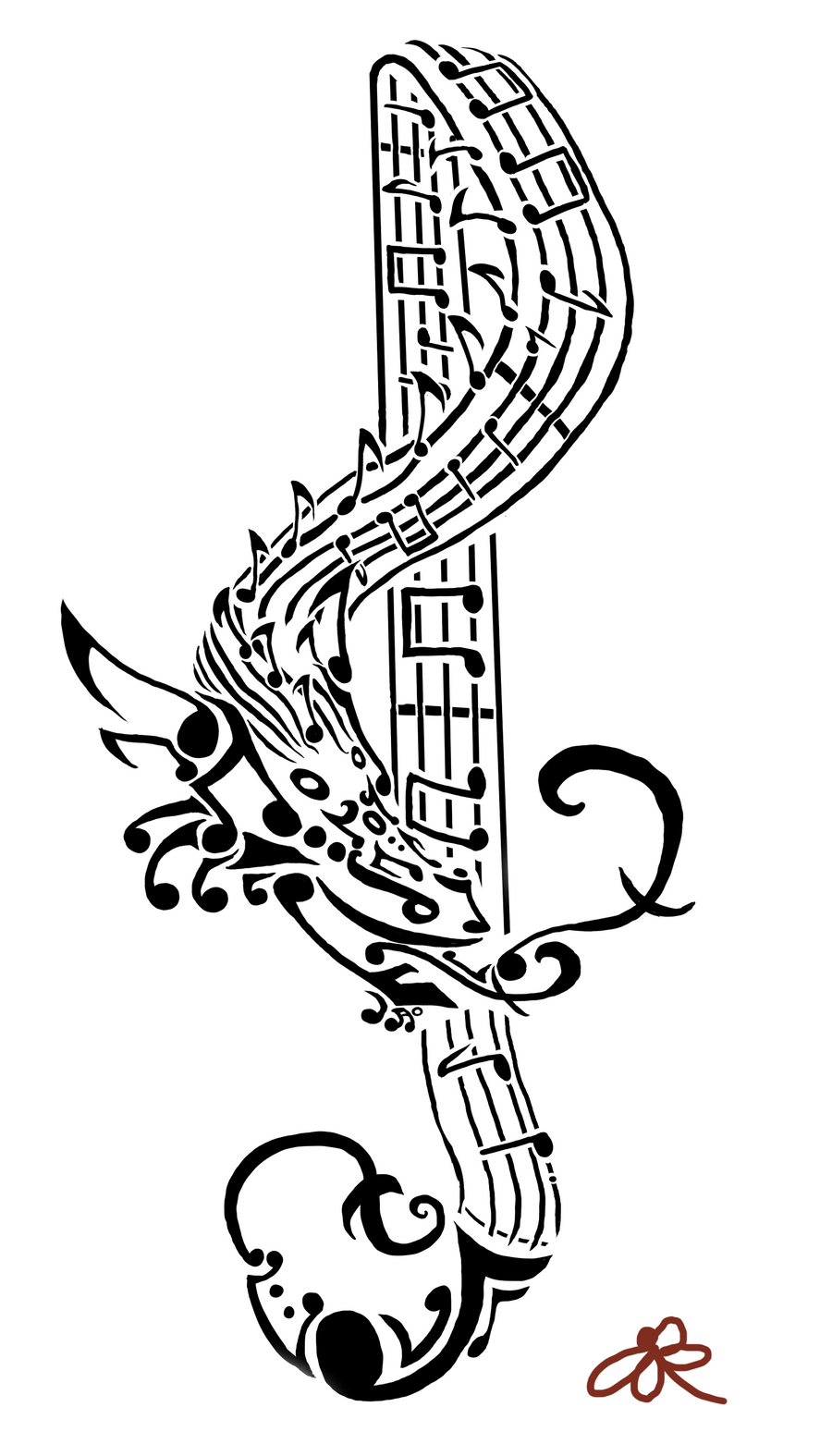 https://img00.deviantart.net/ce08/i/2011/353/5/4/bohemian_dragon_tribal_by_wolfay555-d4jmj1h.png Tribal Music Tattoo Designs