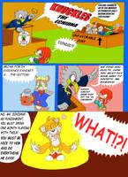 Knuckles' Nephews Page 1 by ProfessorMegaman