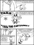 Tails The Cartoonist Page 1
