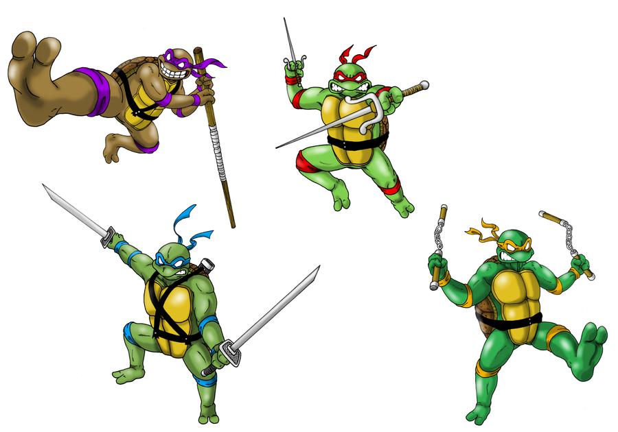 As Tartarugas Ninjas No Deviantart Gifs: Teenage Mutant Ninja Turtles By ProfessorMegaman On DeviantArt