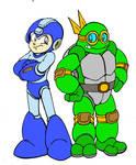 QUICKIE: Mega Man Meets Turtle Man