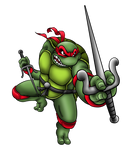 Raphael Is Cool, But Rude