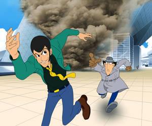 Lupin The Third vs. Inspector Gadget