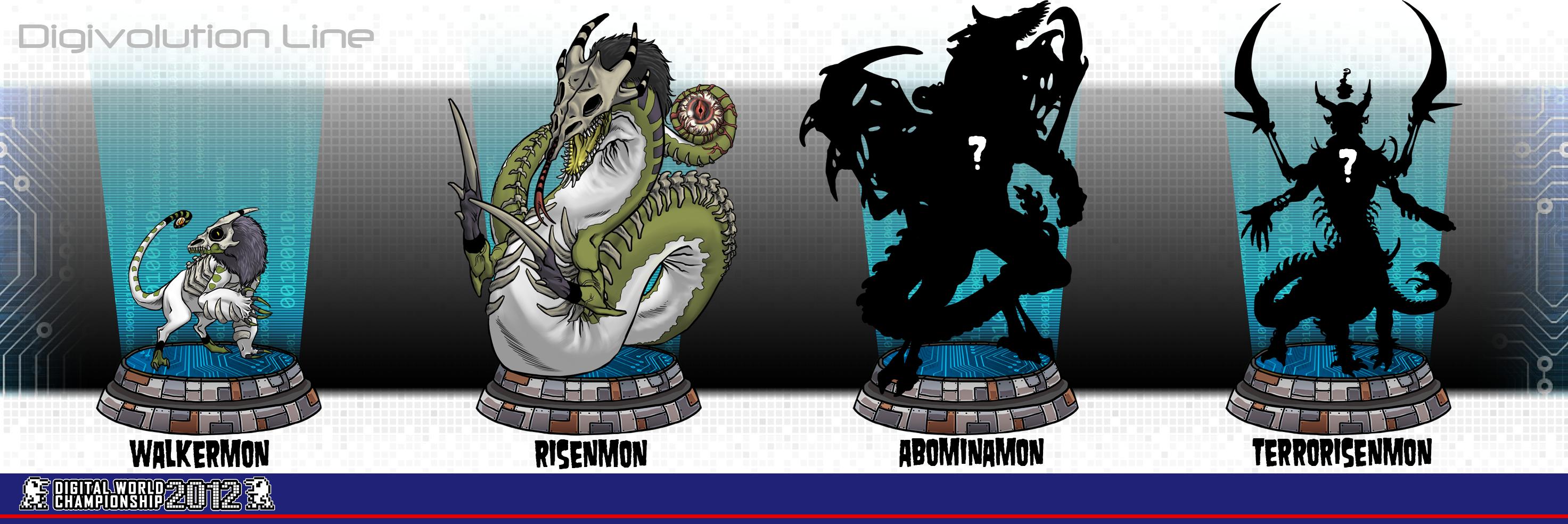 Digimon: Digivolution Line by InkyBrain