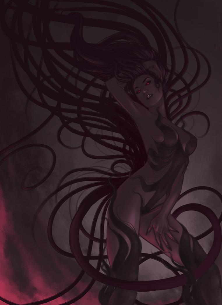 My Parasitic Goddess by InkyBrain