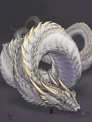 Sketch Comm: Snake Dragon