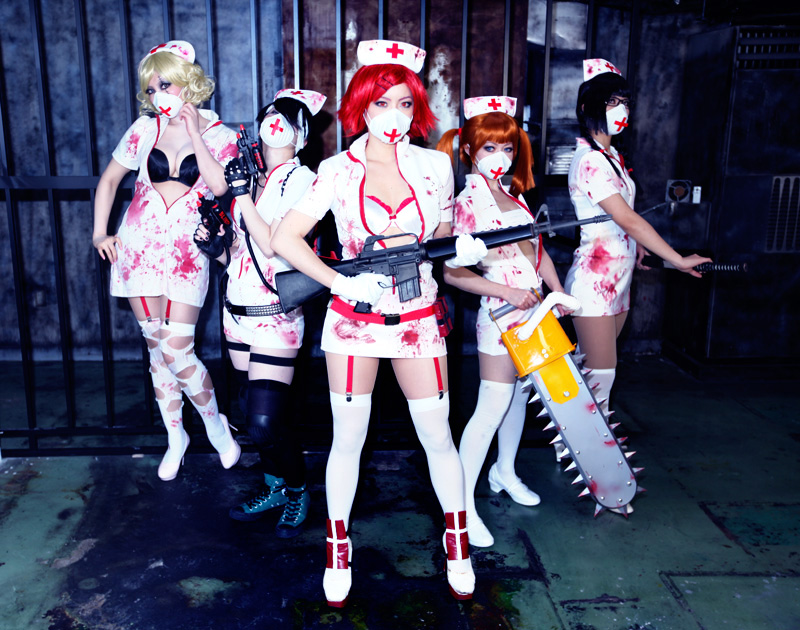 Zombies Nurses by AiKawasaki