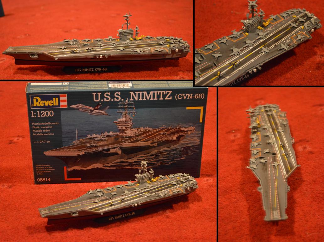 Uss Nimitz 1 1200th Scale Sept 2016 0082 001s