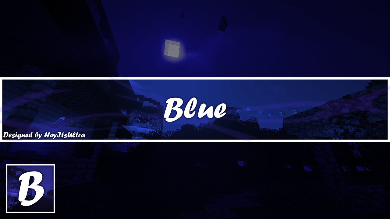 Youtube Template Design   blue youtube design template by heyitsultra d9vlhzt