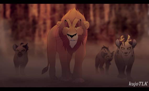 The Lion King 2019 - Screencap Redraw