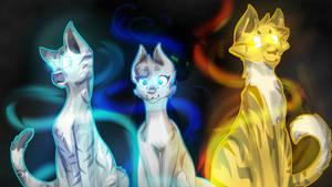 Power of Three? by GrayLynxii