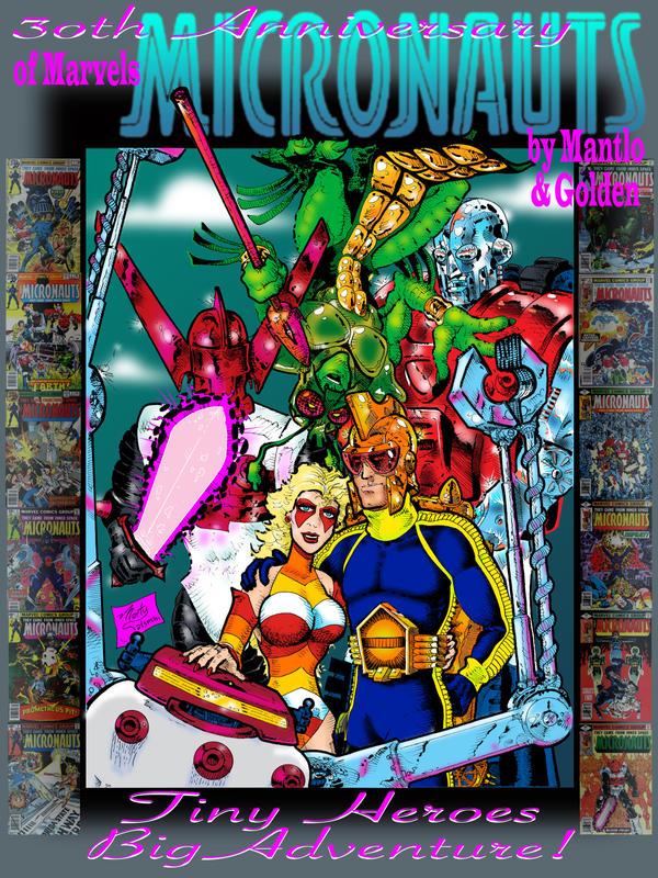 Micronauts 30th Anniversary