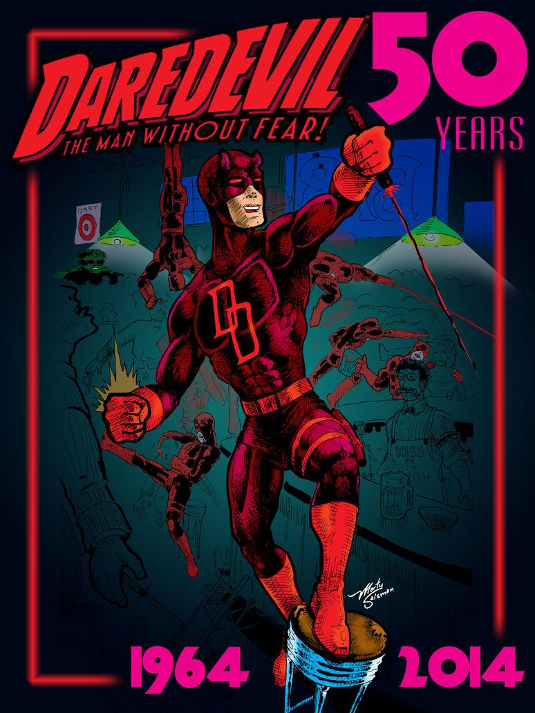Daredevil50thColor by MartySalsman