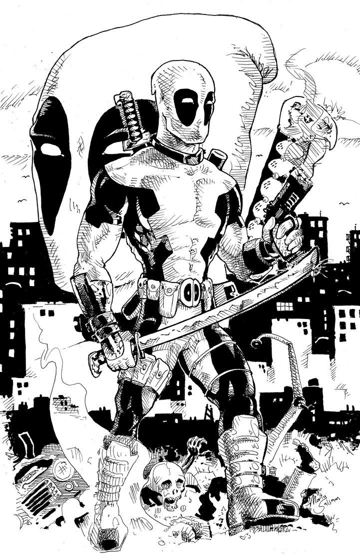 Deadpool by MartySalsman