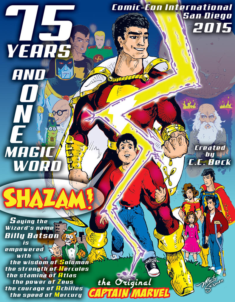 Shazam75TH by MartySalsman
