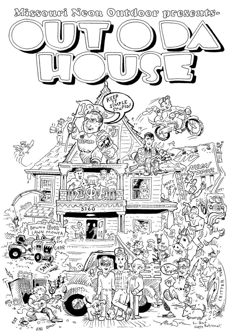 Out O Da House by MartySalsman