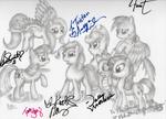 Here We Go Again Partial Signatures