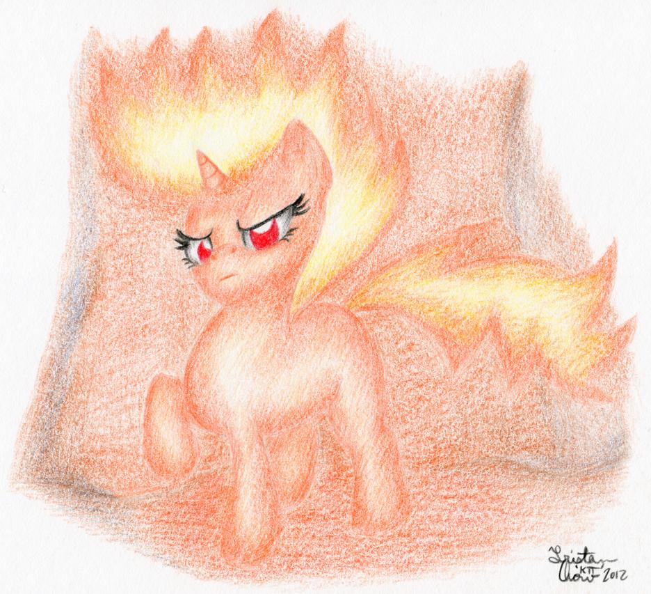Twilight Sparkle is So Hot by KuroiTsubasaTenshi