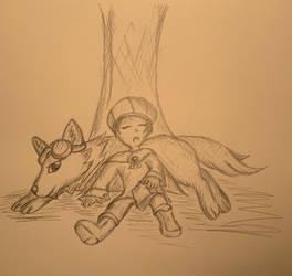 Doggo Pillow: Simone and Ellie
