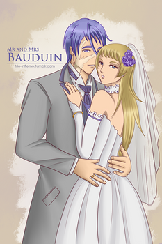 Mr and Mrs Bauduin