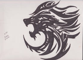 Lion Tribal by shortycng