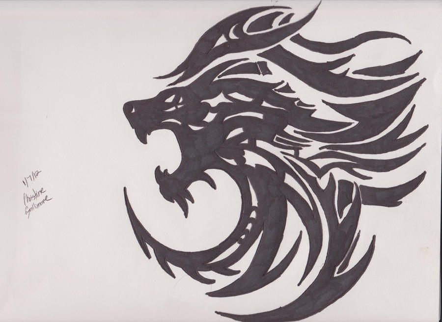 Lion Tribal by shortycng on DeviantArt