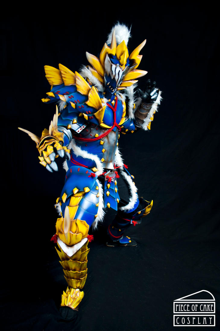 Zinogre Armor Monster Hunter 03 by Dewbunch