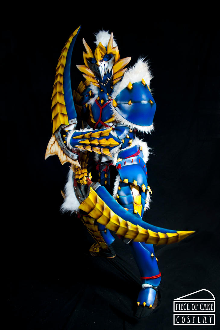 Zinogre Armor Monster Hunter 04 by Dewbunch