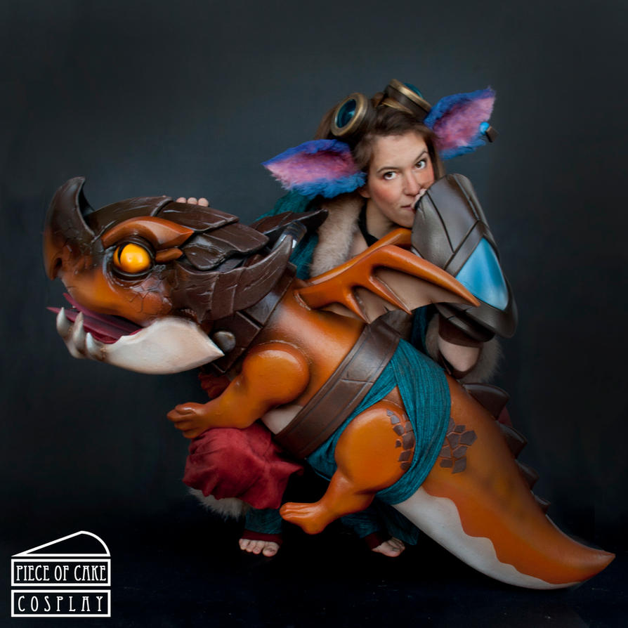 Tristana front dragontrainer by Dewbunch