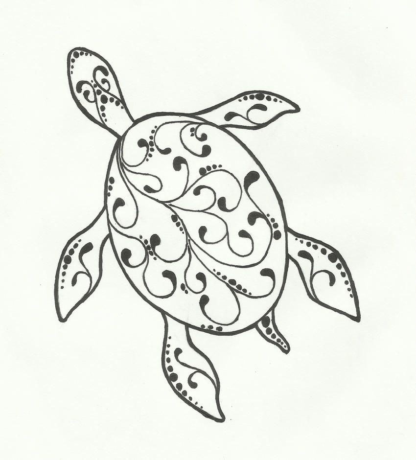 Line Art Turtle : Turtle by kritickilled on deviantart