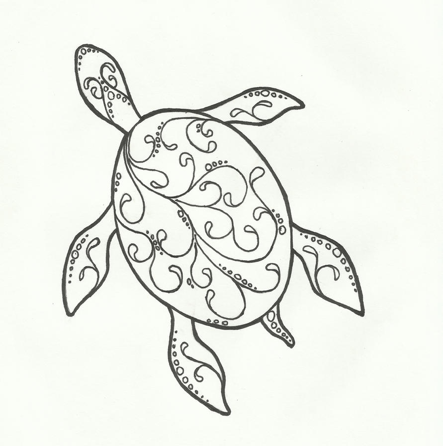Line Drawing Turtle : Turtle lines by kritickilled on deviantart
