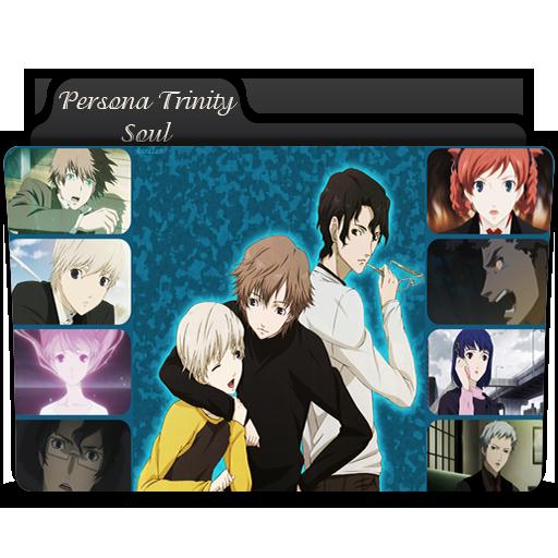 Persona Trinity Soul folder icon by AmirKabird
