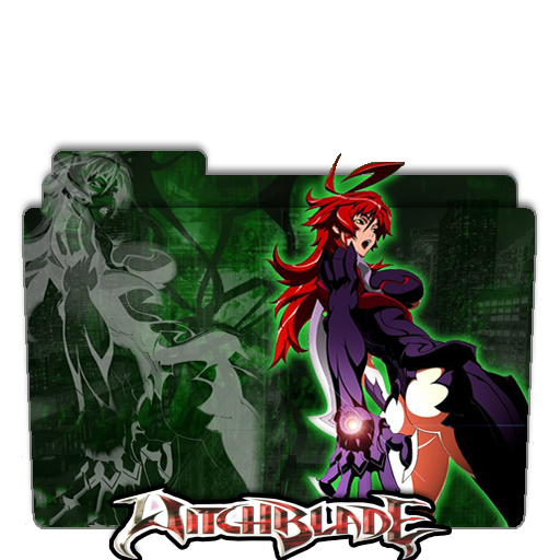 Witchblade folder icon by AmirKabird