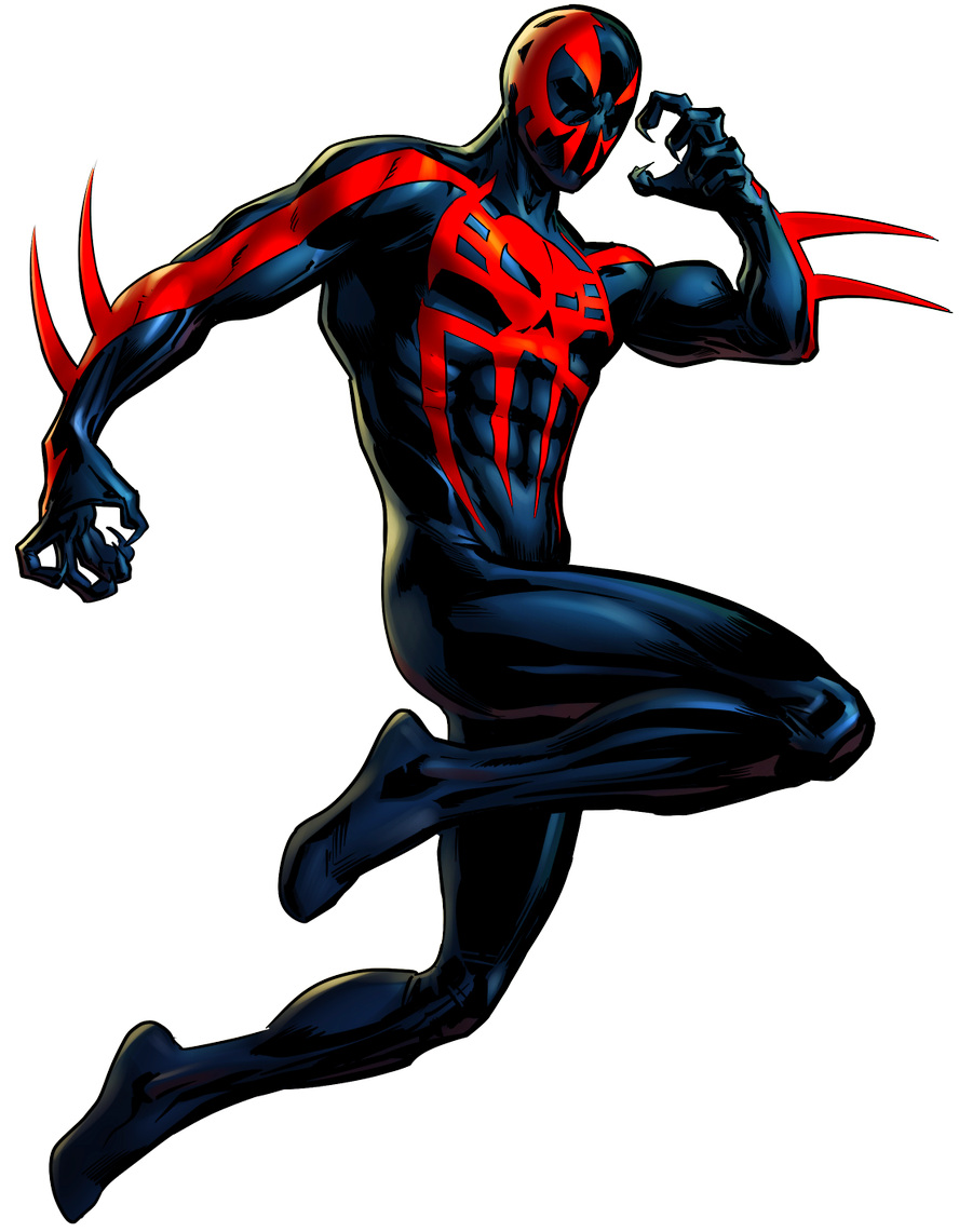 Spider-Man 2099 by alexiscabo1 on DeviantArt