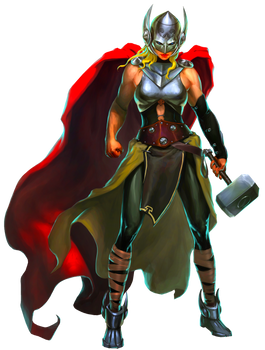 Jane Foster Thor Puzzle Quest